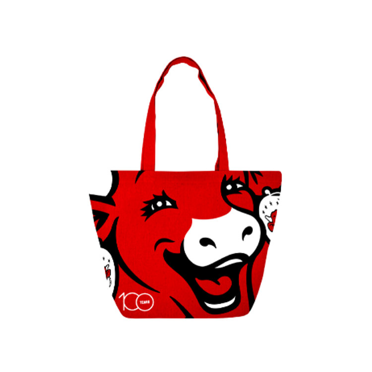 Shopping bag 100 ans La Vache qui rit®