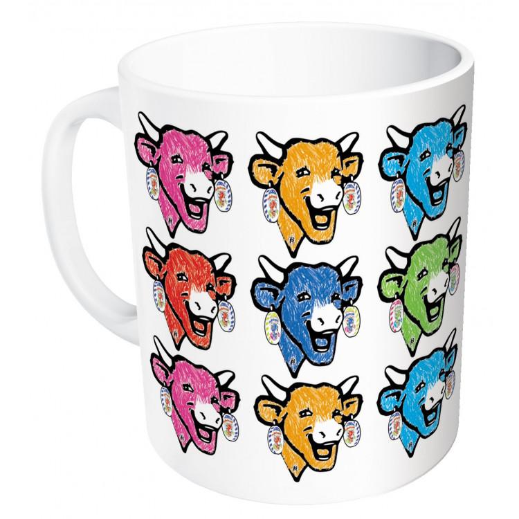 Mug La vache qui rit® Têtes colorées