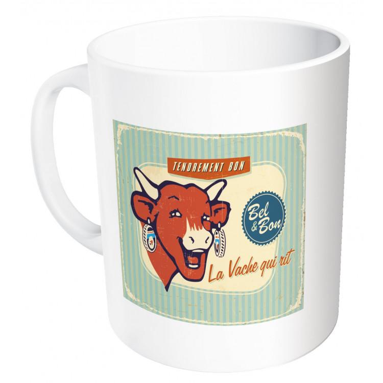 Mug La vache qui rit® Vintage vert