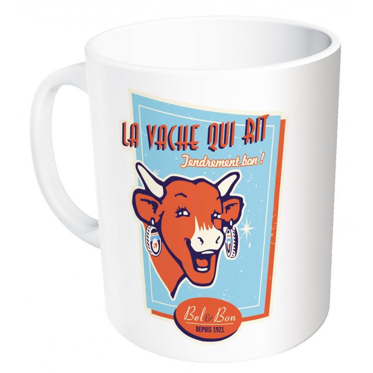 Mug La vache qui rit® Vintage bleu