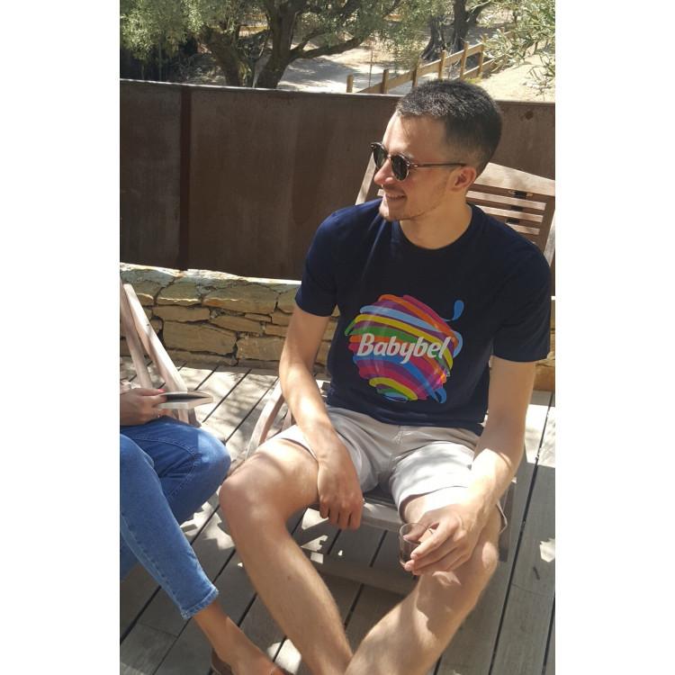 Tee-shirt HOMME Babybel® Déroulé