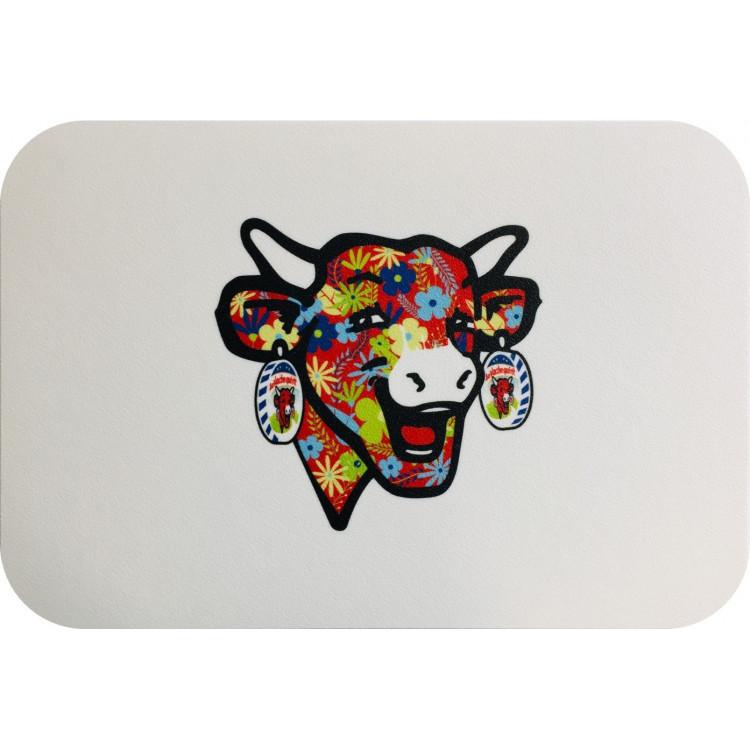 Sous-main pour ordinateur portable La vache qui rit® Flower power 2