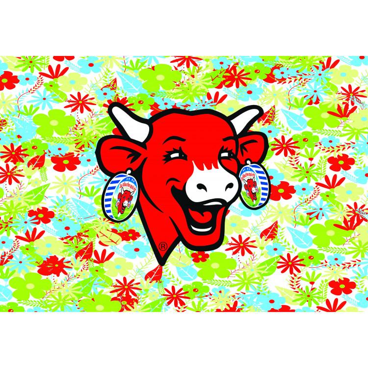 Sous-main pour ordinateur portable La vache qui rit® Flower power 1