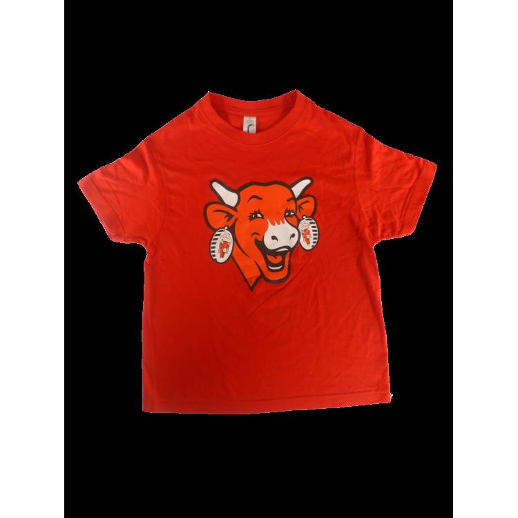 Tee-shirt ENFANT La vache qui rit® - Rouge