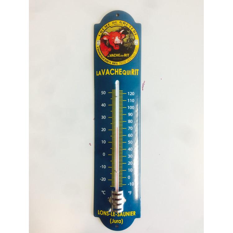 Thermomètre émaillé La vache qui rit® - 42 cm