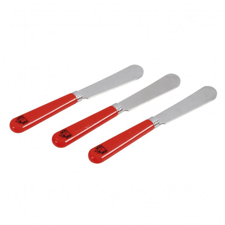 Couteaux à tartiner La vache qui rit® - Lot de 3 couteaux