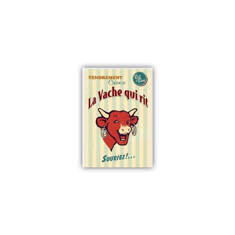 Carte postale La vache qui rit® Vintage crème