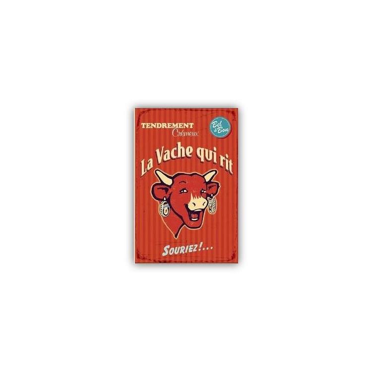 Carte postale La vache qui rit® Vintage rouge