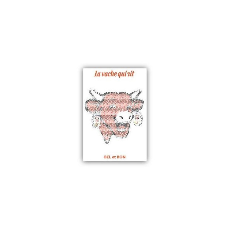 Carte postale  La vache qui rit® Ecriture