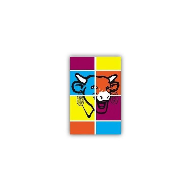 Carte postale  La vache qui rit® Colors