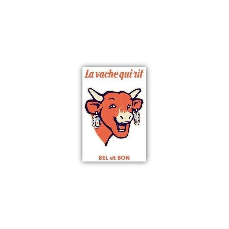 Carte postale  La vache qui rit® Logo vintage