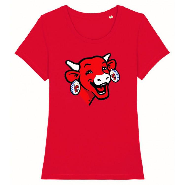 Tee-shirt FEMME La vache qui rit® Logo